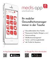 Ihre persönlichen Gesundheits- und Krankendaten in der App
