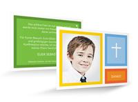 Neue Danksagungskarten für die Kommunion und Konfirmation