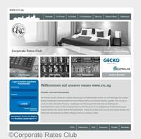 Corporate Rates Club mit neuem Webauftritt und mehr Umsatz