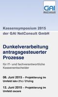 Kassensymposium über Online-Geschäftsstelle und Dunkelverarbeitung antragsgesteuerter Prozesse