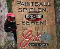 Paintball spielen, Rock am Ring sehen