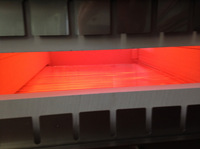 MAX Infrarot-Öfen erwärmen Metalle besonders effizient