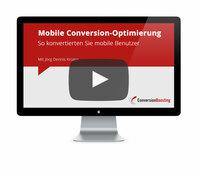 Kostenloses Webinar: Mobile Conversion-Optimierung