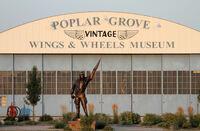 Vintage Wings & Wheels Museum bei Rockford in Illinois präsentiert Rares und Kurioses rund ums Fliegen und Autofahren