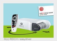 "Red Dot Award für ""easydriver pro"" Caravan Rangierhilfe"