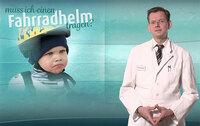 Expertenrat von Dr. Christian Busch: Radfahren nur mit Helm