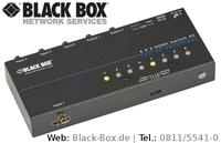 Neuer 4K-HDMI-Switch von Black Box ermöglicht 2 Arbeitsplätzen Zugriff auf 4 UHD-Quellen