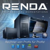 Neu und exklusiv bei Caseking: Profi-Workstations aus der RENDA-Serie mit High-End-Komponenten und maximaler Leistung