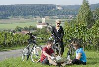 Wandern, Radeln und Kanu fahren auf der Burgenstraße
