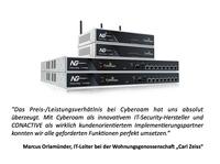 """Wohnungsgenossenschaft """"Carl Zeiss"""" eG entscheidet sich für Cyberoam"""