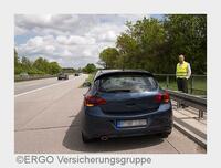 """""""Panne auf der Autobahn: Was tun?"""" - Expertengespräch der ERGO Versicherung"""