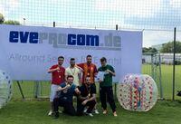 EVEPROCOM veranstaltet die erste Bumperball Meisterschaft