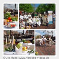 Papenburg: Bunter Kreis in Weiß - Picknick für alle