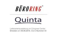 Quinta erstmalig auf der Büroring Lieferantenausstellung 2015