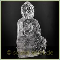 Buddha- Statuen aus Bergkristall - Unikate mit lichtvoller Energie