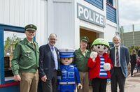 Neue Attraktion im PLAYMOBIL-FunPark: Große Polizeistation mit GoKart-Parcours eröffnet
