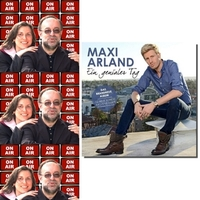 Roland Rube und Ariane Kranz On Air mit Maxi Arland