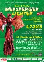 Berliner Open Air Herzberger Lichter am 04.07.2015, Eintritt frei