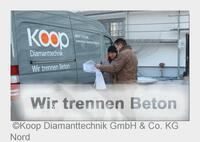 Betonsägen Chemnitz - Koop Diamanttechnik GmbH & Co. KG Nord