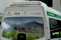 Erster Elektrobus als ÖPNV-Ergänzung im Ländlichen Raum gestartet