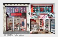 c.l.u.b. UNIQUE BRANDS präsentiert:   ERBORIAN Store in Paris