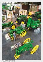 showimage Bei Super-Traktoren und riesigen Erntemaschinen: In Moline/Illinois erleben Besucher die Welt von John Deere