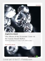 Repercussions of the economic crisis on the luxury brand market