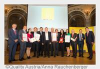 Maschinenbauer Kostwein Sieger im Rennen um den Staatspreis Unternehmensqualität 2015