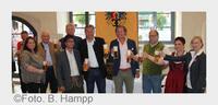 Frisches Ipfmess-Bier aus dem Brauhaus Fürst Wallerstein