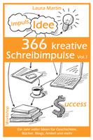 """Neuerscheinung """"366 kreative Schreibimpulse"""" von Laura Martin"""