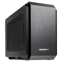 Brandneu und exklusiv bei Caseking: Das ultra-kompakte Gaming-Case QBX von Cougar mit perfekter Innenraum-Aufteilung.