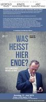 """Regisseur Dominik Graf zu Besuch bei """"Was heißt hier Ende?"""""""