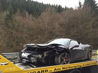The dead Ferrari