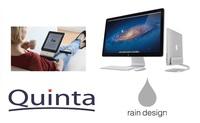 Quinta ist offizieller Distributor von Rain Design