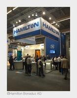 Besucher interessierten sich für Hamiltons Neuheiten