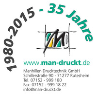 Vom Fotosatz-Unternehmen zum Kunststoff-Druckspezialisten: 35 Jahre Manhillen Drucktechnik GmbH