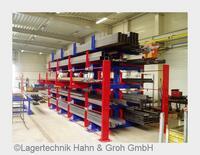 Die LagerTechnik Hahn & Groh GmbH ermöglicht optimale Langgutlagerung