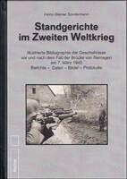"""""""Standgerichte im Zweiten Weltkrieg"""" von H.-W. Sondermann, Helios-Verlag"""