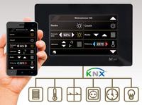 Touchpanels mit integrierter KNX-Bedienoberfläche