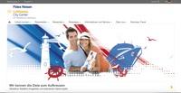 Fides Reisen Lufthansa City Center in Berlin mit neuer Website