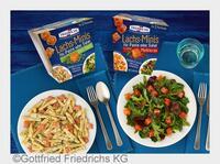 Die ersten Lachs-Minis im Becher für Pasta und Salat von FRIEDRICHS