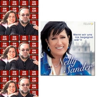 Nelly Sander On Air mit Roland Rube und Ariane Kranz