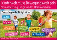 Kinderwelt muss Bewegungswelt sein