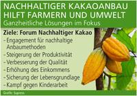 Nachhaltiger Kakaoanbau hilft Farmern und Umwelt