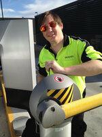 Markus down under: SKIDATA-Techniker im Australien-Einsatz