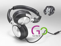 Ultrasone GO: kompakter Reisekopfhörer für mobile Musikliebhaber