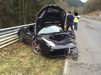 Weltweites Interesse: The dead Ferrari