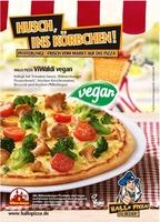 Hallo Pizza bringt die erste vegane Pizza auf den Markt