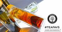 Doppelwandiger amapodo Tee-Bereiter mit Teesieb und echtem Bambusdeckel