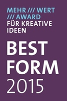 Designer Philipp Rösler und Thomas Kores gewinnen BESTFORM-AWARD 2015